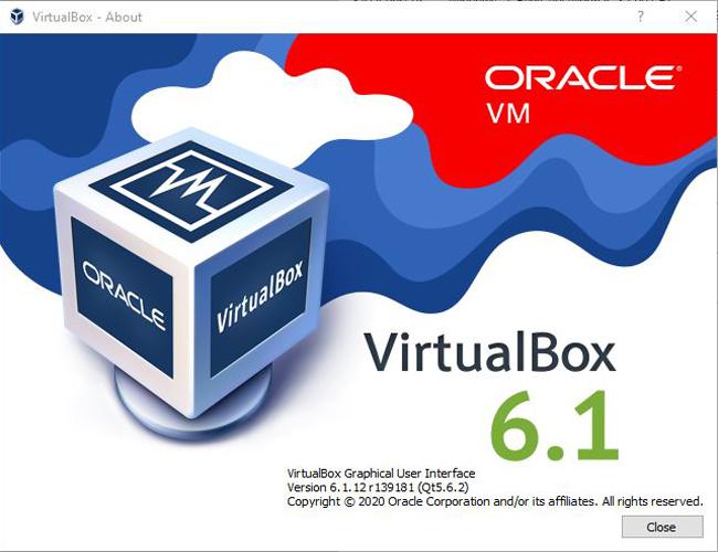 Oracle VM Virtual Box Manager