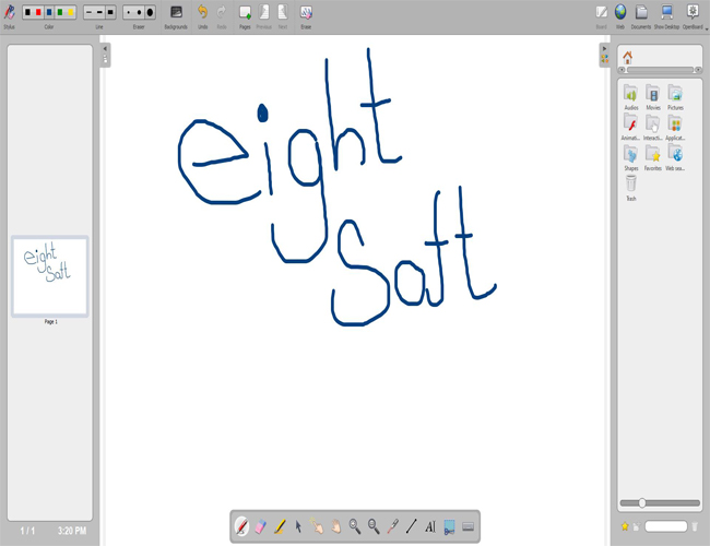 Whiteboard Program